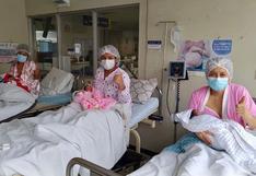 Instituto Nacional Materno Perinatal: tres mujeres se convirtieron en mamás por primera vez en el Día de la Madre