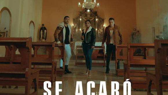 """Dúo Idéntico y Son Tentación se unen para la versión salsa del tema """"Se acabó"""". (Foto: @identico)"""