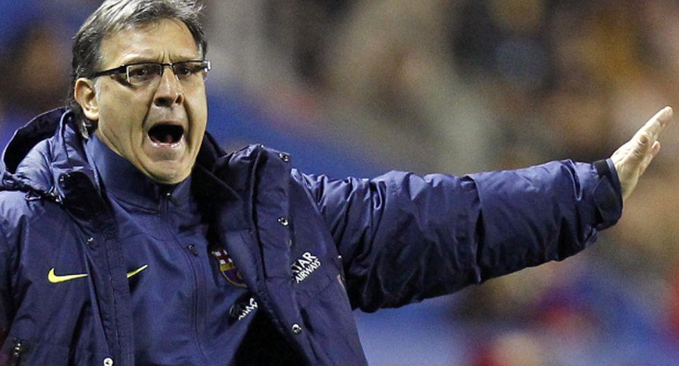 "Gerardo Martino: ""No debimos empatar, estuvimos desafortunados"""