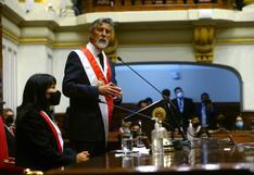 """Sagasti: """"Debemos identificar y sancionar a los responsables de las muertes (de Inti Sotelo y Jack Pintado)"""""""