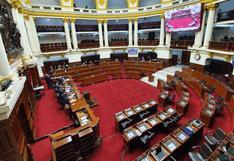 Congreso: Cinco bancadas buscan priorizar debate sobre la inmunidad parlamentaria