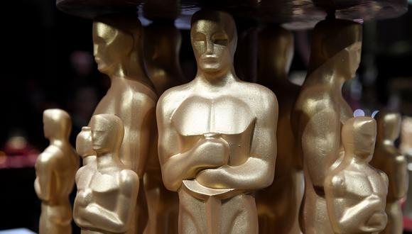 Las estatuillas doradas con las que celebrarán los ganadores del Oscar 2019. (Foto: AFP)