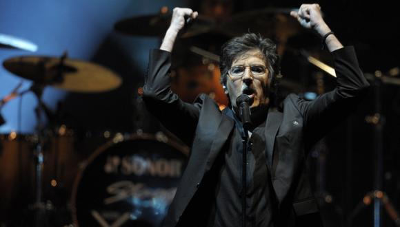 Charly García canceló sus shows por complicaciones en su salud. (Foto: AFP)