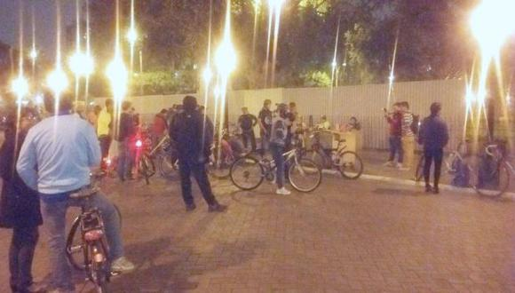 Ciclistas se reúnen en Miraflores para marchar hasta SJM