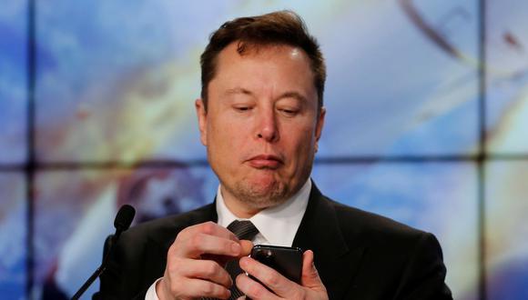 Elon Musk tiene una rutina bastante peculiar para poder tener tiempo de atender todos sus negocios. (Foto de archivo: Reuters)