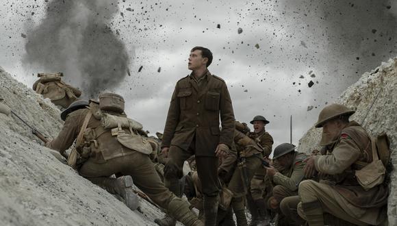 """En la carrera por el Oscar 2020, """"1917"""" ha destacado en la temporada de premios. (Foto: Difusión)"""