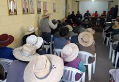 Población que viven cerca al volcán Ubinas se resisten a la evacuación