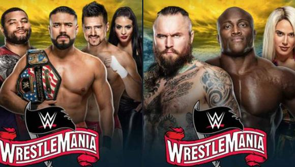 WWE confirmó dos combates para Wrestlemania 36. (Foto: @WWE)