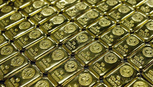 Los futuros del oro en Estados Unidos perdían 0,4% este lunes. (Foto: Reuters)