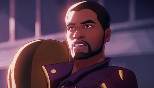 T'Challa como Star Lord en la serie de Marvel (Foto: Disney+/ Marvel Studios)