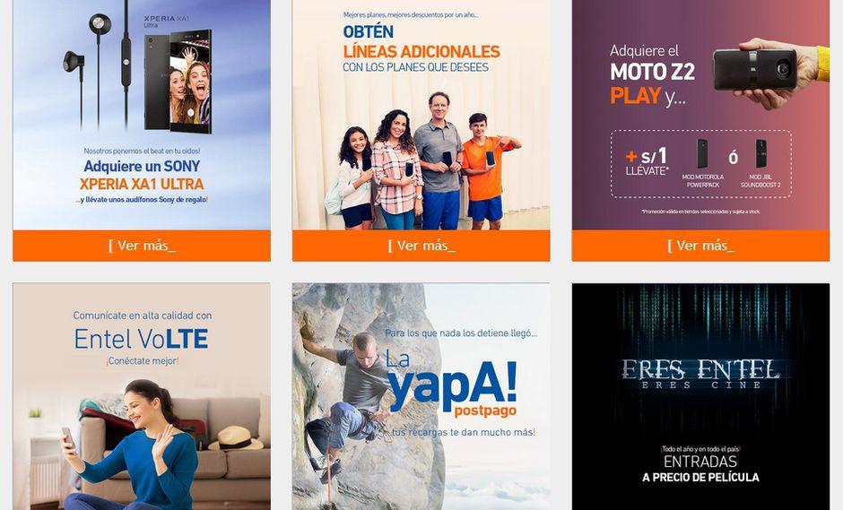"""Una de las promociones lanzadas por Entel, titulada """"La Yapa"""", ha sido sancionada por Indecopi."""