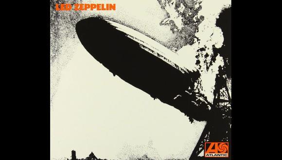 Portada del primer álbum de Led Zeppelin