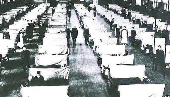 Gripe española mató hasta 20  enfermos por día en Arequipa