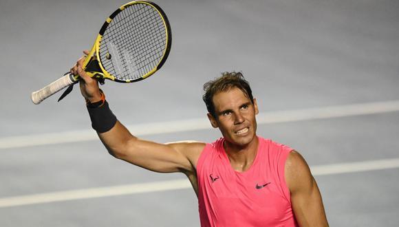 Rafael Nadal volverá en el Masters 1000 de Roma. (Foto: AFP)