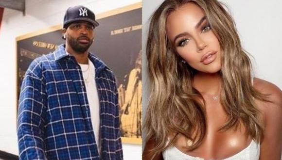 Tristan Thompson reacciona al nuevo look de Khloé Kardashian  (Foto: Instagram)