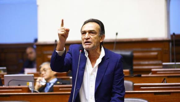 Héctor Becerril es representante de Fuerza Popular por Lambayeque. (Foto: Congreso)