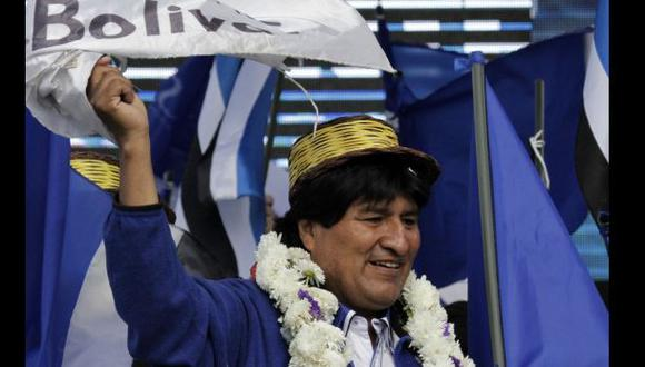 Evo Morales ganó tercer mandato en Bolivia con 61% de votos