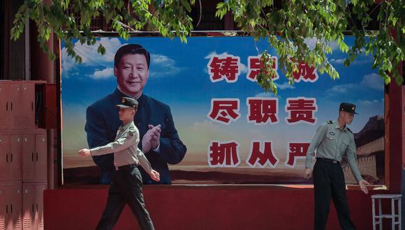 """China prohíbe Servicio Mundial de la BBC por """"grave violación"""" de directivas oficiales. (Foto: NICOLAS ASFOURI / AFP)."""