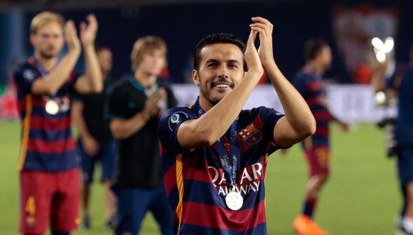 """Mascherano alaba a Pedro: """"Dios le ha dado una varita mágica"""""""