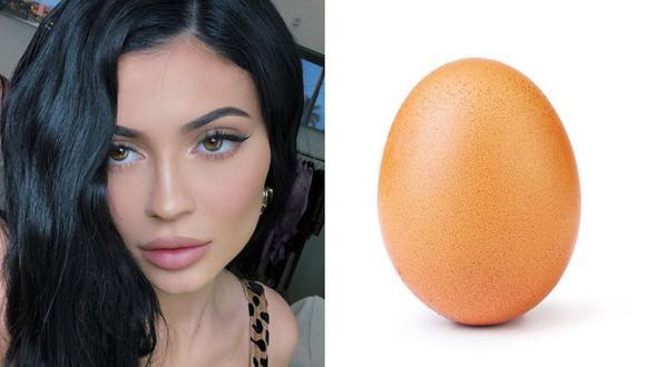 Hemos llegado al momento en que un ser humano ha sido desplazado por una célula sexual femenina, en este caso de ave. Hablamos del caso de Kylie Jenner y el huevo que la destronó. (Instagram)