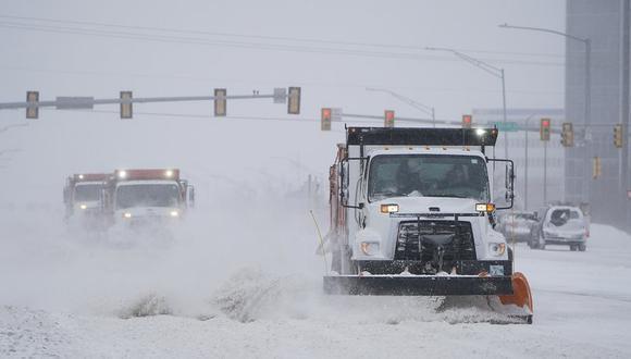 La ola de frío azota a buena parte de Estados Unidos, incluido Texas. (AP Photo/Sue Ogrocki).