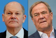 Scholz y Laschet abren un pulso por ganar socios para gobernar Alemania