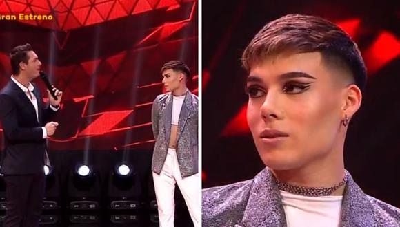 """Stefano Grande cautivó con su talento vocal y logró llamar la atención en """"La Voz Perú"""". (Foto: Captura Latina)."""