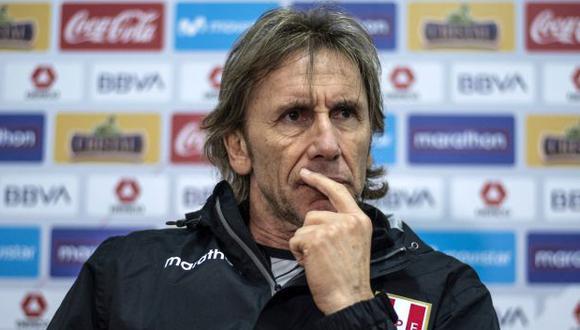 Ricardo Gareca tiene contrato con la selección peruana hasta el final de las Eliminatorias rumbo a Qatar 2022. (Foto: AFP)