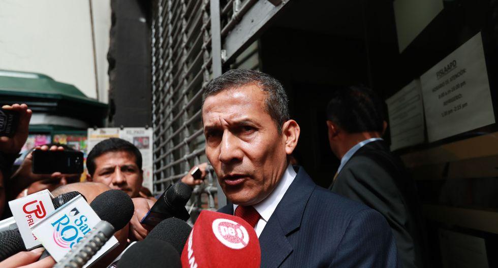 8. Ollanta Humala (11%). El ex presidente es investigado por presunto lavado de dinero para su campaña en el marco del Caso Odebrecht. (Foto: Lino Chipana / El Comercio)