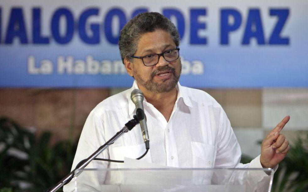 Iván Márquez de las FARC saludó conversaciones de paz entre el Gobierno de Colombia y el ELN (EFE)