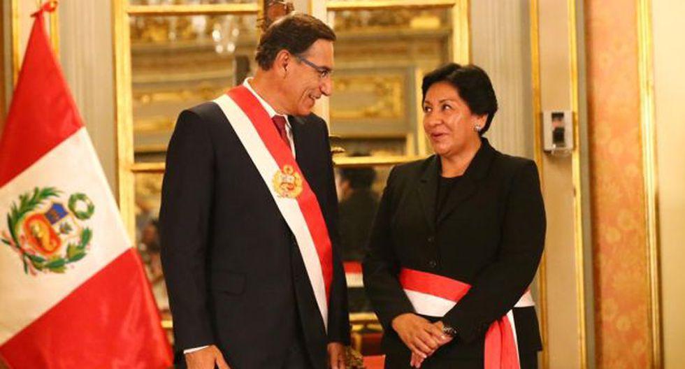 Vilca es ingeniera de minas por la Universidad Nacional del Altiplano de Puno y antes fue viceministra de Minas durante el Gobierno de Ollanta Humala desde agosto del 2011 hasta enero del 2012. (Foto: Hugo Curotto/ GEC)