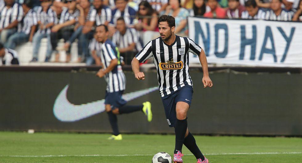 Claudio en el partido de las estrellas de Alianza Lima. (Foto: Fernando Sangama)