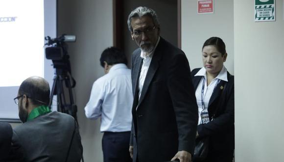 Fiscal pide 18 meses de prisión preventiva para José Paredes, hermano del ex ministro Carlos Paredes, por el caso del 'club de la construcción' (Foto: Anthony Niño de Guzmán)