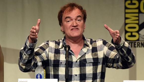 Quentin Tarantino es uno de los directores con más fanáticos alrededor del mundo. (Foto: Comic Con)