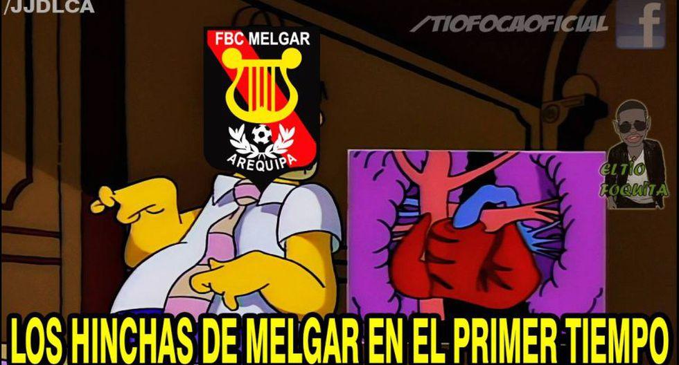Melgar vs. Sporting Cristal: memes se burlan de primera final - 1