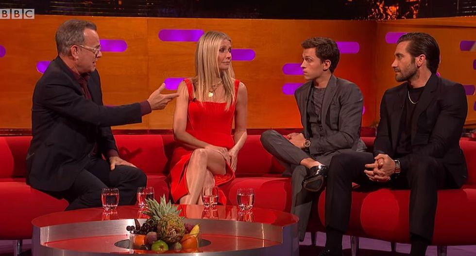Tom Hanks sorprende a todos al darle lecciones de interpretación a Tom Holland. (Foto: Captura de YouTube)