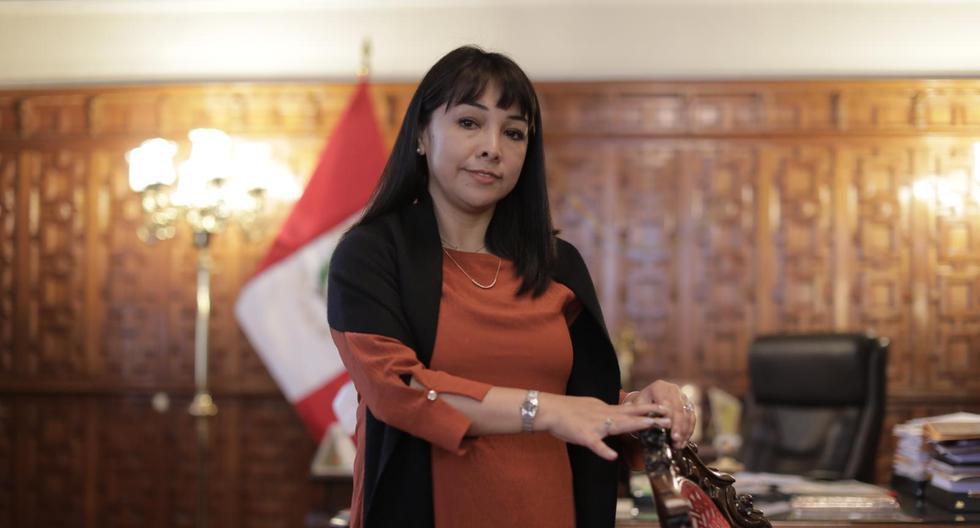 Mirtha Vásquez entregará su cargo este lunes a la nueva Mesa Directiva que vaya a ser elegida en el Congreso 2021-2026. (Foto: Anthony Niño de Guzmán/ El Comercio)