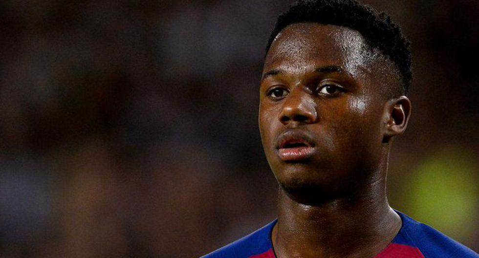 Ansu Fati solo tiene 16 años, pero acaba de convertirse en el goleador más joven de la historia del Barcelona. (Foto: EFE)