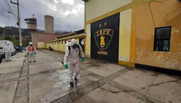 Dos internos del centro penitenciario de Huaraz fallecieron tras infectarse con COVID-19 (Cortesía Gobierno Regional de Áncash).