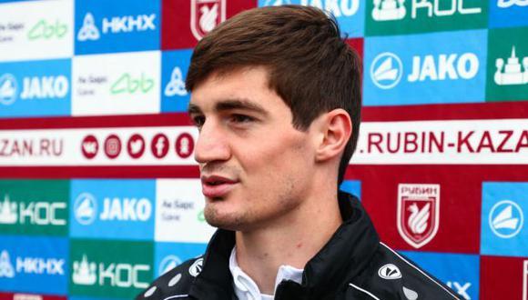 Konstantin Pliev ha participado en 12 partidos de la presente edición de la Premier League de Rusia. (Foto: Rubin Kazán)