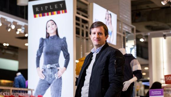 Sergio Manzor, gerente de Operaciones de Ripley Perú. (Foto: Difusión)