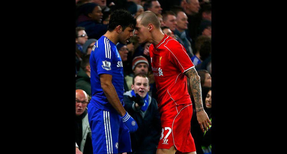Diego Costa desató la furia de los jugadores del Liverpool - 16