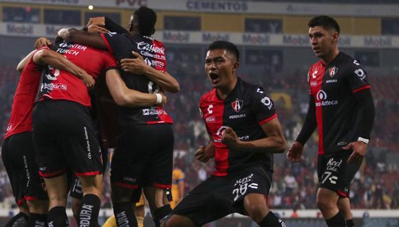 Atlas venció a Tigres y clasificó a cuartos de final del Clausura 2021 de la Liga MX