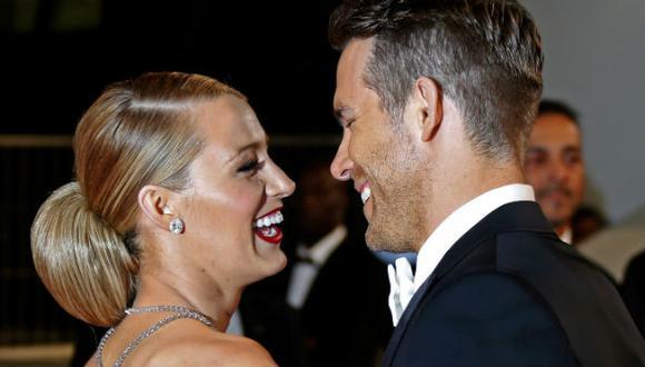Blake Lively sigue los tips de vida de su esposo Ryan Reynolds