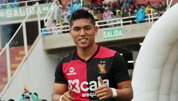 Hideyoshi Arakaki espera ganarse un espacio en el once titular de la selección peruana Sub-23. (Foto: Melgar)