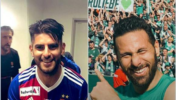 Carlos Zambrano y Claudio Pizarro no están en la selección peruana desde hace tres años. (Foto: Basel/Werder Bremen)