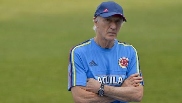 José Pekerman dirigió la selección de Colombia en dos mundiales. (AFP)