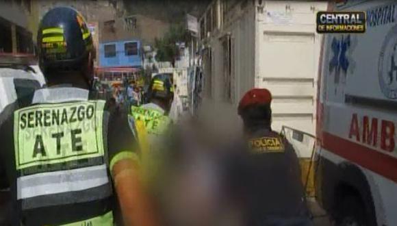 Ate: niña de 7 años falleció tras ser atropellada por furgoneta