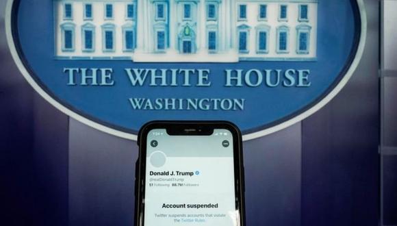 Twitter suspendió indefinidamente la cuenta de Trump. Y no fueron los únicos. (Foto: Reuters)