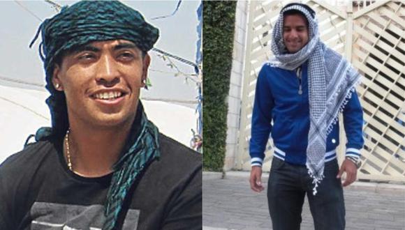 Junior Viza y Miguel Cevasco vivieron de cerca un conflicto en la Franja de Gaza cuando jugaban en el fútbol israelí. (Fotos: Facebook)